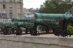 franska kanoner Arkivfoton