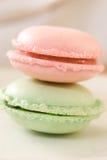 franska macarons Fotografering för Bildbyråer