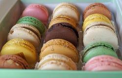 Franska Macarons Royaltyfri Fotografi