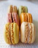 franska macaroons Royaltyfri Bild