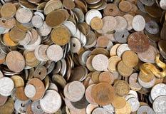 Franska mynt arkivfoto