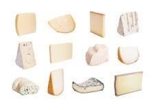 franska ostar Arkivbild
