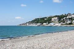 Franska Pebble Beach Royaltyfri Foto