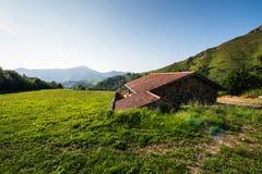 franska pyrenees Royaltyfria Bilder