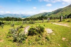 franska pyrenees Royaltyfria Foton