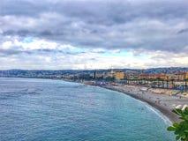 Franska riviera Nice '18 royaltyfri bild