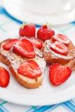 Franska rostat bröd Royaltyfria Foton