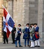 Franska styresoldater Arkivbild