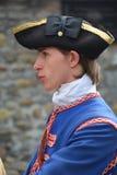 Franska styresoldater Royaltyfria Bilder