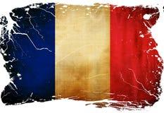 Franskaflagga stock illustrationer