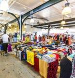 Franskamarknad på den Decatur gatan i New Orleans Arkivfoto