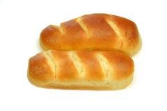 Franskan mjölkar bröd Arkivbilder