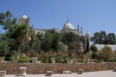 Franskaslott i territoriet av Carthage Royaltyfri Foto