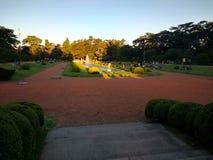 Franskaträdgård arkivbild