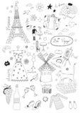Franskauppsättning Arkivbild