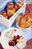 Franskt bageri Arkivfoto