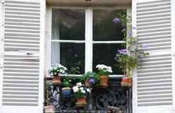 franskt fönster Arkivbilder