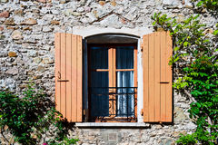 franskt fönster Royaltyfria Foton