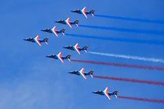 Franskt flygvapen Royaltyfri Fotografi
