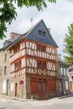 Franskt forntida hus Arkivbilder