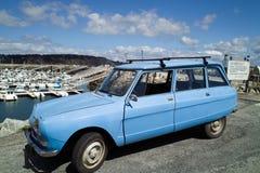 franskt gammalt retro för bil Arkivbild