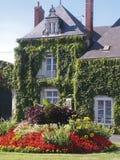 franskt hus Royaltyfri Fotografi