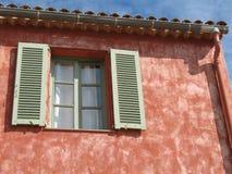 franskt hus typiska riviera royaltyfria bilder