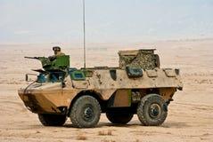 franskt ljust medel för armored armé Royaltyfria Bilder