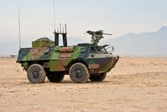 franskt ljust medel för armored armé Royaltyfri Foto