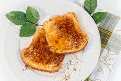 Franskt rostat bröd Arkivfoton