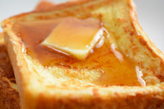 Franskt rostat bröd Arkivfoto
