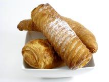 fransman för 2 frukost Arkivbilder