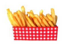 fransmannen steker potatisar Arkivbilder