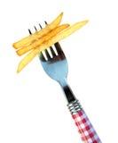 fransmannen steker potatisar Royaltyfri Bild