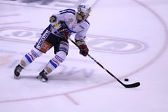 Frantisek Kaberle - czech hockey extraleague Stock Photography
