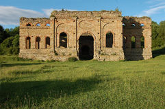 Руина завода выплавкой, Frantiskova Huta, Словакии Стоковое Фото