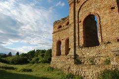 Руина завода выплавкой, Frantiskova Huta, Словакии Стоковые Изображения RF