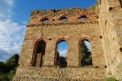 Руина завода выплавкой, Frantiskova Huta, Словакии Стоковое Изображение RF