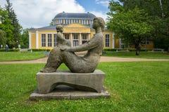 Frantiskovy Lazne (República Checa) Imagenes de archivo