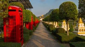 Frantsujsky ogród parkowy Nong Nooch Tropikalny Ogrodowy Tajlandia Obrazy Royalty Free