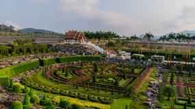 Frantsujskytuin van de Tropische Tuin Thailand van parknong Nooch Royalty-vrije Stock Afbeeldingen