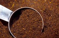 Frantumazioni del caffè fotografia stock libera da diritti