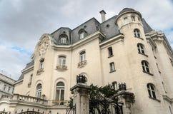 Französische Botschaft Stock Fotografie