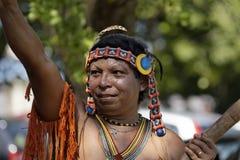 Französisch-Guayanas jährlicher Karneval 2011 stockbilder