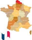 Französische Abteilung. lizenzfreie abbildung