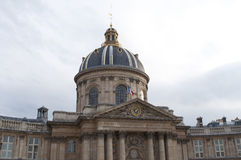 Französische Akademie-Gebäude, Paris, Frankreich Stockbilder
