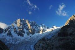 Französische Alpen stockbild