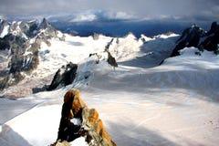Französische Alpen Lizenzfreie Stockfotografie
