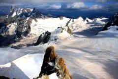 Französische Alpen Stockfotos