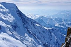 Französische Alpen Stockfoto